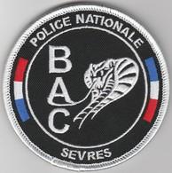 Écusson Police BAC Sèvres - Serpent Fil Blanc (92) - Polizei