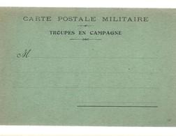 CARTE FRANCHISE MILITAIRE 14/18 - SIMPLE - NEUVE - 9 - FM-Karten (Militärpost)