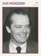 Cinéma Américain. Photographie. Jack Nicholson. Biographie. Filmographie. Portrait De Star. Encyclopédie Du Cinéma. - Beroemde Personen