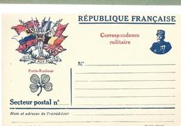 CARTE FRANCHISE MILITAIRE 14/18 - SIMPLE - NEUVE - 10 - Marcophilie (Lettres)