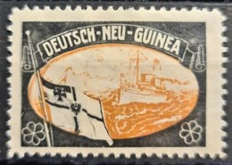 DEUTSCH NEU-GUINEA - MLH - Propaganda -Vignette - Colonie: Nouvelle Guinée