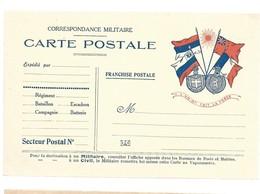 CARTE FRANCHISE MILITAIRE 14/18 - SIMPLE - NEUVE - 15 - Marcophilie (Lettres)
