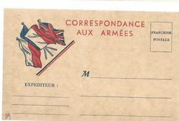 CARTE FRANCHISE MILITAIRE 14/18 - SIMPLE - NEUVE - 16 - Marcophilie (Lettres)