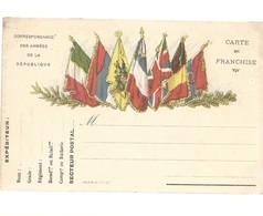 CARTE FRANCHISE MILITAIRE 14/18 - SIMPLE - NEUVE - 21 - Marcophilie (Lettres)