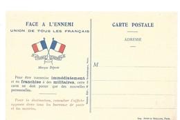 CARTE FRANCHISE MILITAIRE 14/18 - SIMPLE - NEUVE - 22 - Marcophilie (Lettres)