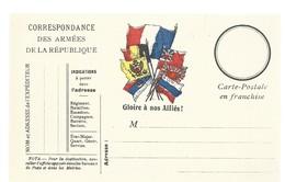 CARTE FRANCHISE MILITAIRE 14/18 - SIMPLE - NEUVE - 23 - Marcophilie (Lettres)