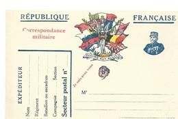 CARTE FRANCHISE MILITAIRE 14/18 - SIMPLE - NEUVE - 25 - Marcophilie (Lettres)