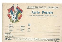 CARTE FRANCHISE MILITAIRE 14/18 - SIMPLE - NEUVE - 26 - Marcophilie (Lettres)