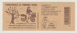 "FRANCE - CARNET N° 858 C6 - NEUF** NON PLIE - Marianne De Ciappa-Kawena "" Choisissez Le Timbre Vert "" - Standaardgebruik"
