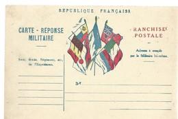 CARTE FRANCHISE MILITAIRE 14/18 - SIMPLE - NEUVE - 35 - Marcophilie (Lettres)