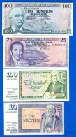 Icelande  4  Billets - Iceland
