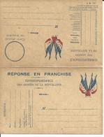 CARTE FRANCHISE MILITAIRE - DOUBLE - NEUVE - BON ETAT - 10 - FM-Karten (Militärpost)