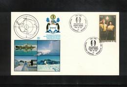 South Africa 1981 Antarctic Treaty Interesting Postcard - Tratado Antártico