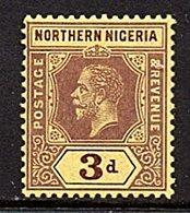 Northern Nigeria # 43 VF MH (663) - Northern Rhodesia (...-1963)