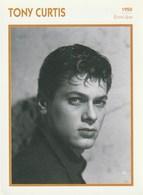 Cinéma Américain. Photographie. Tony Curtis. Biographie. Filmographie. Portrait De Star. Encyclopédie Du Cinéma. - Beroemde Personen