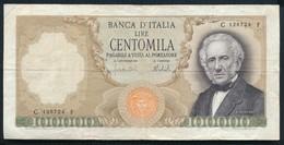 °°° 100000 MANZONI - 27/6/1967 °°° - 100000 Liras