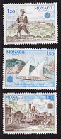 Europa CEPT 1979 Monaco Y&T N°1186 à 1188 - Michel N°1375 à 1377 *** - Europa-CEPT