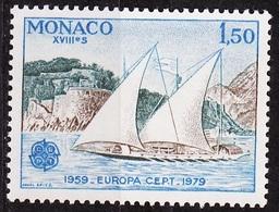 Europa CEPT 1979 Monaco Y&T N°1187 - Michel N°1376 *** - 1,50f EUROPA - Europa-CEPT