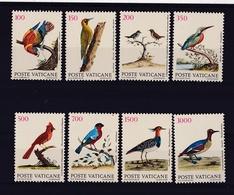 1989 Vaticano Vatican UCCELLI  BIRDS Serie Di 8v. MNH** - Vaticano (Ciudad Del)