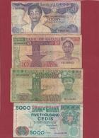 Ghana 11 Billets Dans L 'état - Ghana