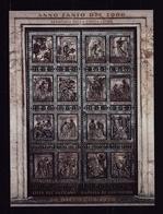 1999 Vaticano Vatican PORTA SANTA  HOLY DOOR Foglietto MNH** Souv.Sheet A - Blocks & Sheetlets & Panes