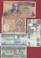 Autres-Afrique 10 Billets Dans L 'état Lot N °1 - Other - Africa
