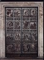 1999 Vaticano Vatican PORTA SANTA  HOLY DOOR Foglietto MNH** Souv.Sheet C - Blocks & Sheetlets & Panes