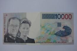 Billet De 10.000 Fr ALBERT II  1997 Pratiquement Comme Neuf , Avec Un Très Léger Plis En Haut Au Centre Du Billet - [ 2] 1831-... : Regno Del Belgio