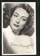 AK Schauspielerin Joan Crawford Mit Freundlichem Blick - Schauspieler