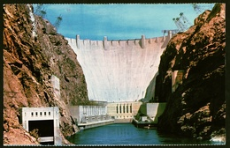 Hoover Dam / Nevada  -  Colorado River  -  Ansichtskarten Ca.1968    (11919) - Etats-Unis