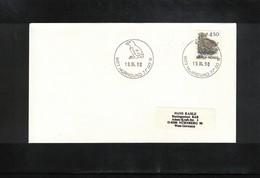 Norway 1990 Svalbard / Spitzbergen Hornsund Postmark Interesting Letter - Polar Philately
