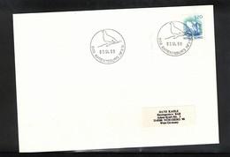 Norway 1990 Svalbard / Spitzbergen Barentsburg Postmark Interesting Letter - Polar Philately