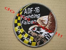 ADF - 16 Fighting Falcon SIX PACK - Escudos En Tela