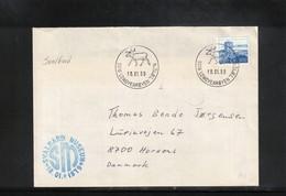Norway 1989 Svalbard / Spitzbergen Svalbard Museum Interesting Letter - Polar Philately