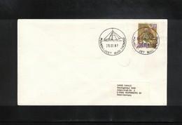 Norway 1987 Tromsoe Polar Museum Interesting Letter - Polar Philately