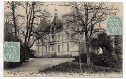 Près Montmorillon  ---  PINDRAY  --- 1906--Chateau  (coté Nord )..........................à Saisir - Autres Communes