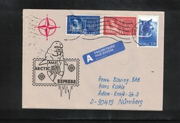 Norway 1994 NATO Arctic Express Interesting Letter - Polar Philately