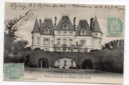 Près Montmorillon +--PINDRAY --1906-- Le Chateau  ( Façade Sud  )................................à Saisir - Autres Communes