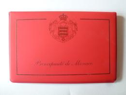 Coffret Monacophil 5 Pièces De 10 Cent à 2 Euro + Timbre MONACO 2002. UNC - Monaco
