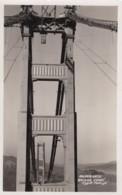 San Francisco California, Golden Gate Bridge Construction, C1930s Vintage Real Photo Postcard - San Francisco