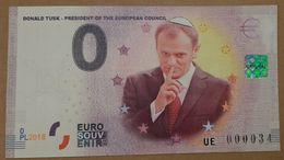 0 Euro POLAND President Of The European Council - Donald Tusk 2018 - EURO