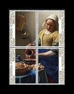 Caribbean Netherlands (Saba) 2019 Mih. 67/70 The Milkmaid. Painting Of Johannes Vermeer MNH ** - Niederländische Antillen, Curaçao, Aruba