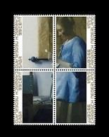 Caribbean Netherlands (Saba) 2019 Mih. 71/74 Woman Reading A Letter. Painting Of Johannes Vermeer MNH ** - Niederländische Antillen, Curaçao, Aruba