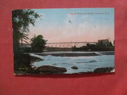 Passaic River & Bridge    Paterson   New Jersey > Ref 4078 - Paterson