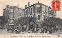 VAL D'OISE  95  CORMEILLES EN PARISIS - CAFE TABAC DE LA GARE ( MAISON HAUDUC ) - Cormeilles En Parisis
