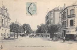 VAL D'OISE  95  CORMEILLES - AVENUE DE LA GARE - Cormeilles En Parisis