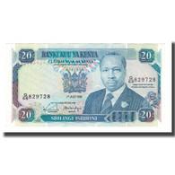 Billet, Kenya, 20 Shillings, 1988-92, 1990-07-01, KM:25c, NEUF - Kenia