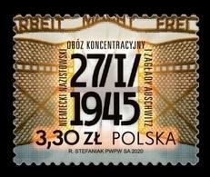 Poland 2020 Mih. 5183 World War II. Liberation Of German Nazi Concentration And Extermination Camp Auschwitz MNH ** - Neufs