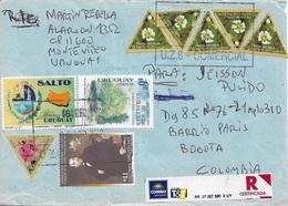 Uruguay. 07-IX-2009. Montevideo - Bogota. Flores - Uruguay