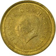 Monnaie, Turquie, 5000 Lira, 1995, TTB, Laiton, KM:1029.1 - Turquie